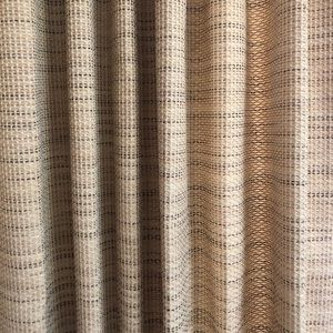 Accents - 3 pairs of gorgeous custom large sized curtains